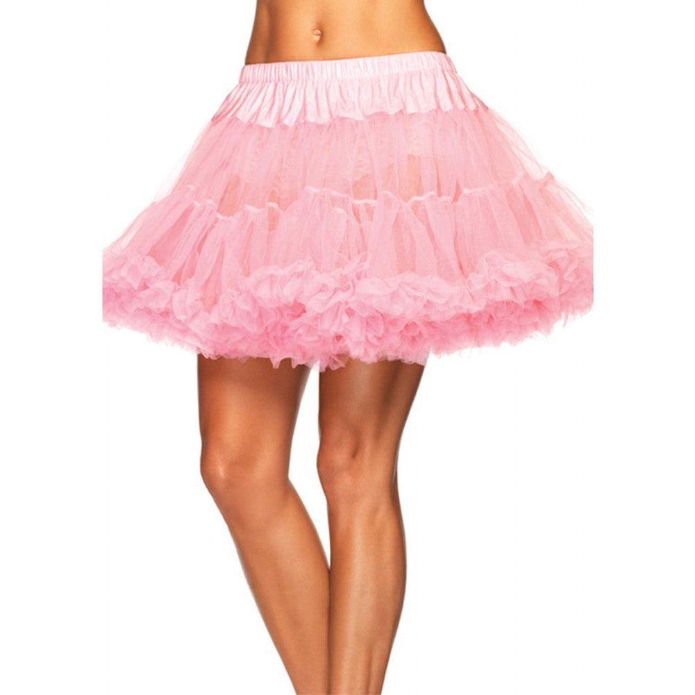 Leg Avenue Plus Size Petticoat Pink Retro Vintage Rockabilly Pin Up