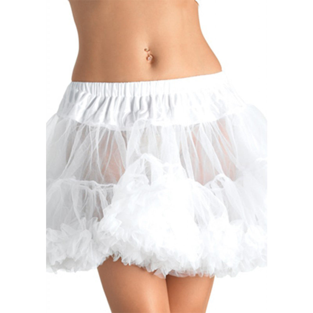 Leg Avenue Plus Size Petticoat White Retro Vintage Rockabilly Pin Up