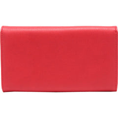Lux De Ville Miss Lux Wallet Red Matte Rockabilly Retro Vintage Pin Up
