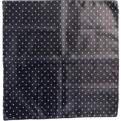 Mayhem Marilyn Small Polka Dot Bandana Black/White Retro Rockabilly Pin Up