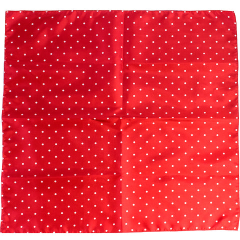 Mayhem Marilyn Small Polka Dot Bandana Red/White Retro Rockabilly Pin Up