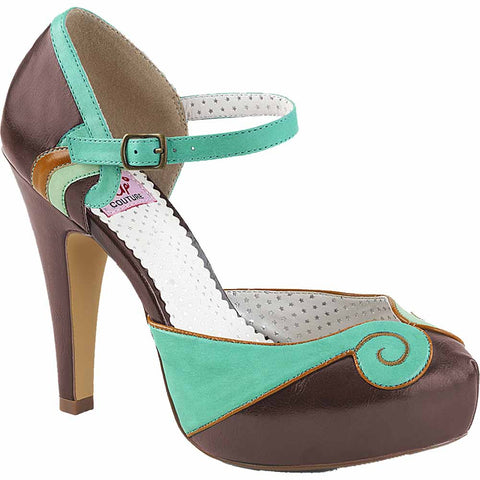 Pin Up Couture BETTIE-17 Platform d