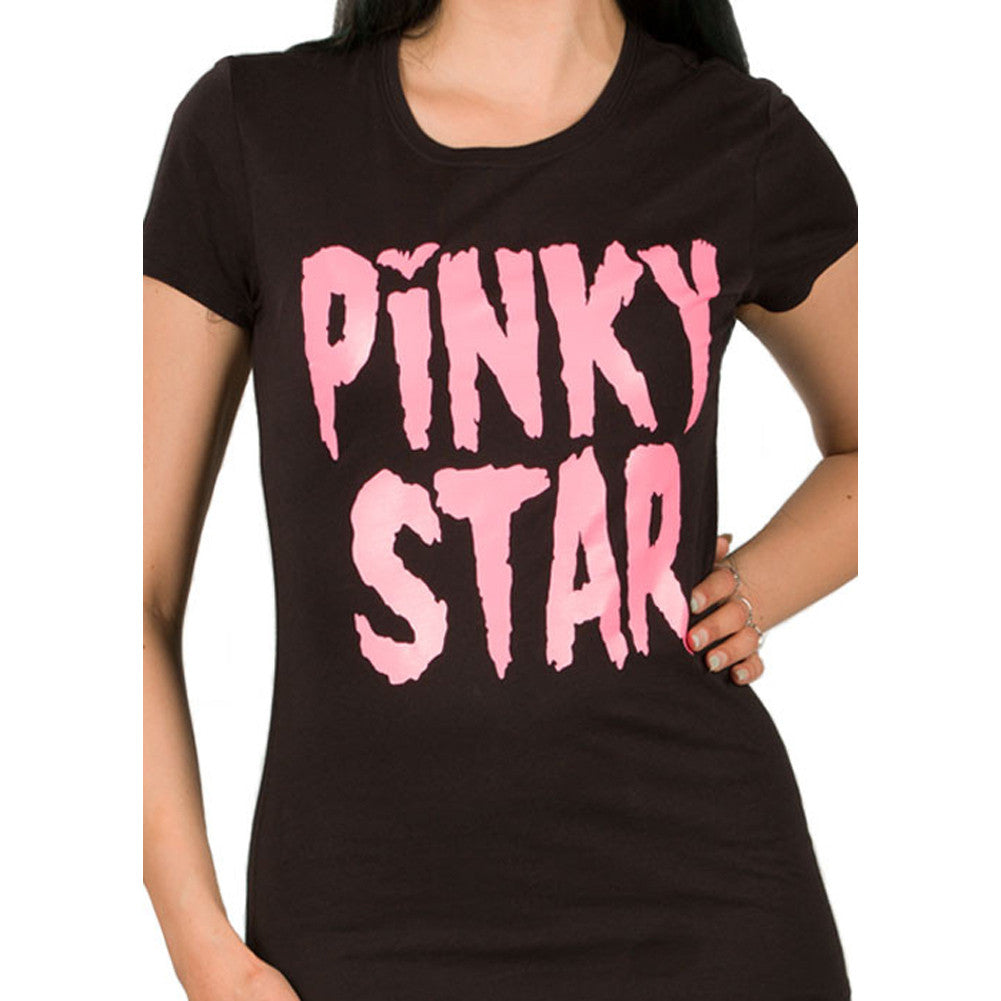 Women's Pinky Star Pinky Star Monster T-Shirt Logo