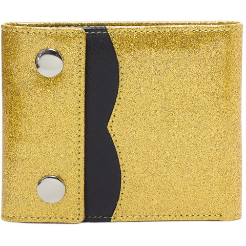 Women's Sourpuss Sabrina Wallet Light Gold Retro Vintage Rockabilly Pin Up