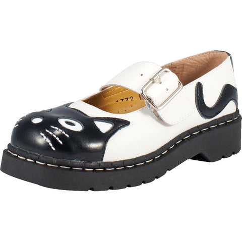 Women's T.U.K. Classic Kitty Mary Jane Cat Alternative Shoe