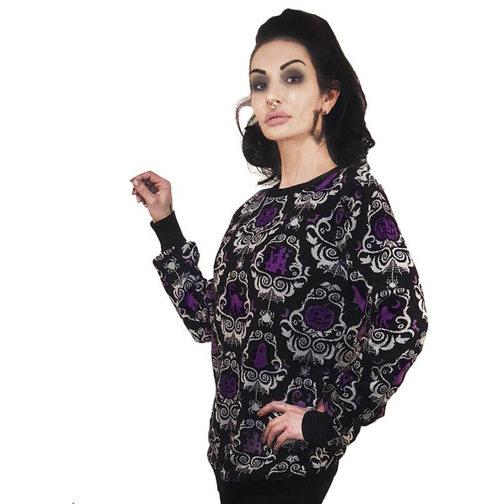 women's too fast apparel victorian halloween gothic damask christmas s