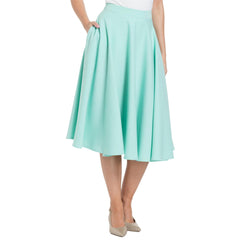Voodoo Vixen SANDY Full Circle Skirt Mint Retro Vintage Rockabilly