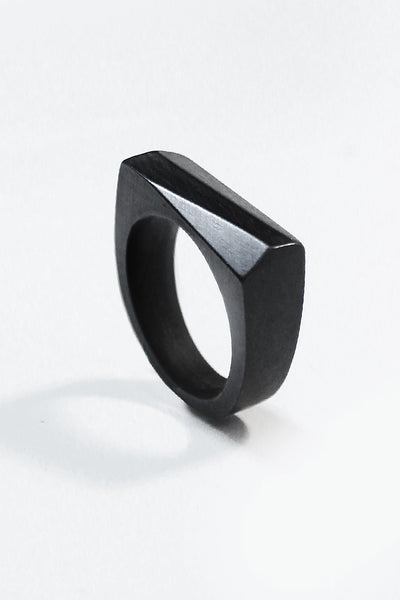 Ebony ANGLE Ring