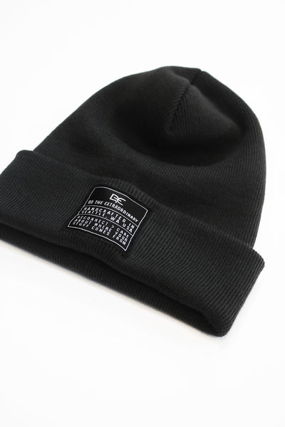 DTE CHARCOAL GREY BEANIE