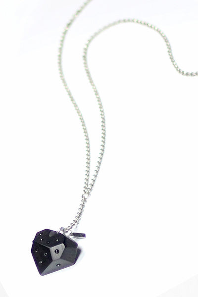 Ebony Heart Necklace