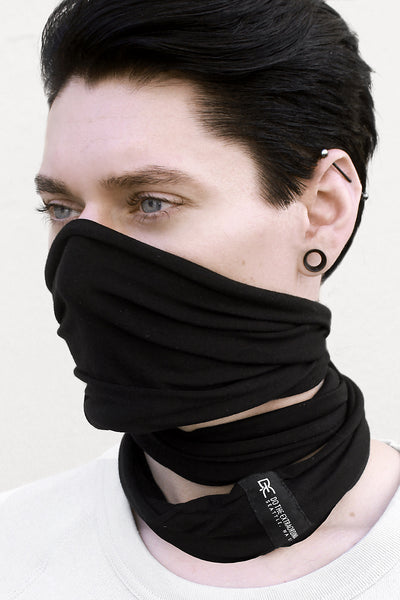 INFINITY WRAP MASK GRAPHITE BLACK