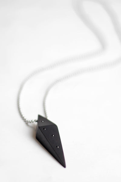 Ebony Prism Necklace