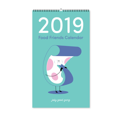 2019 Food Friends Calendar