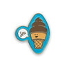 Soft Serve Enamel Pin