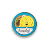 Taco Party Enamel Pin