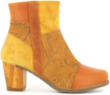 Patchwork Suede Short Boot
