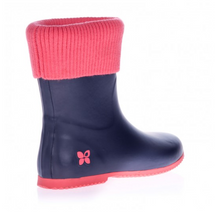 Short Rainboot with Knit Sock