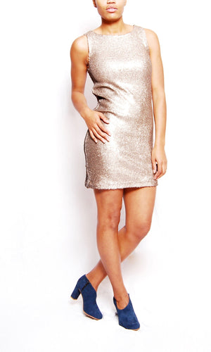 Penley Sequins Shift Dress