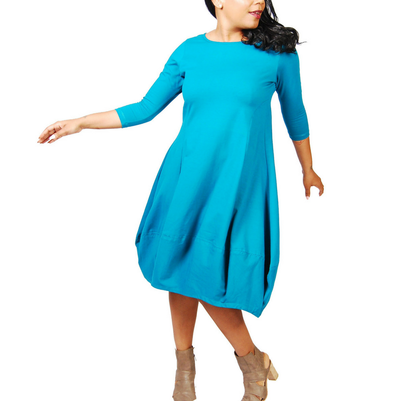 Tulip 3/4 Sleeve Dress
