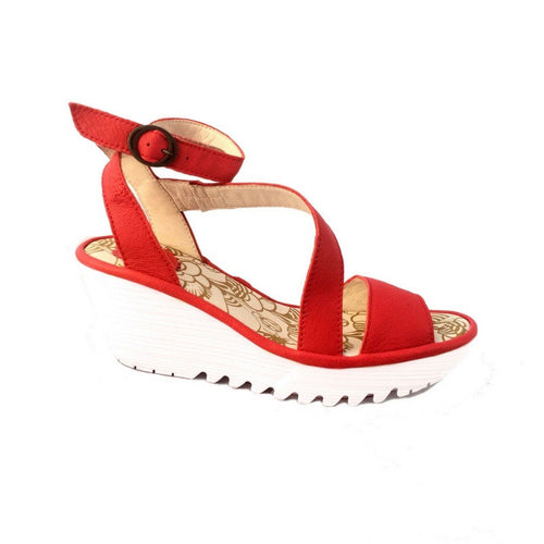 Yesk Ankle Strap Wedge Sandal