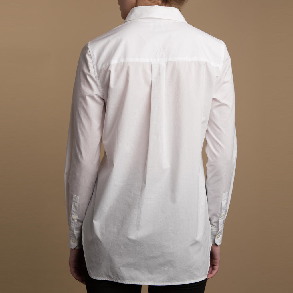 The Trapezoid Pullover - Paper White