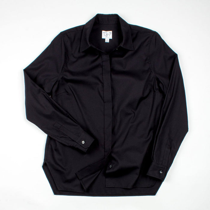 The Trapezoid Shirt - Galaxy Black
