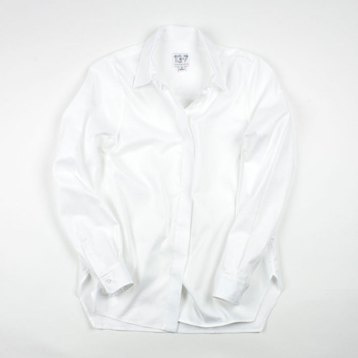 The Trapezoid Shirt - Crisp White