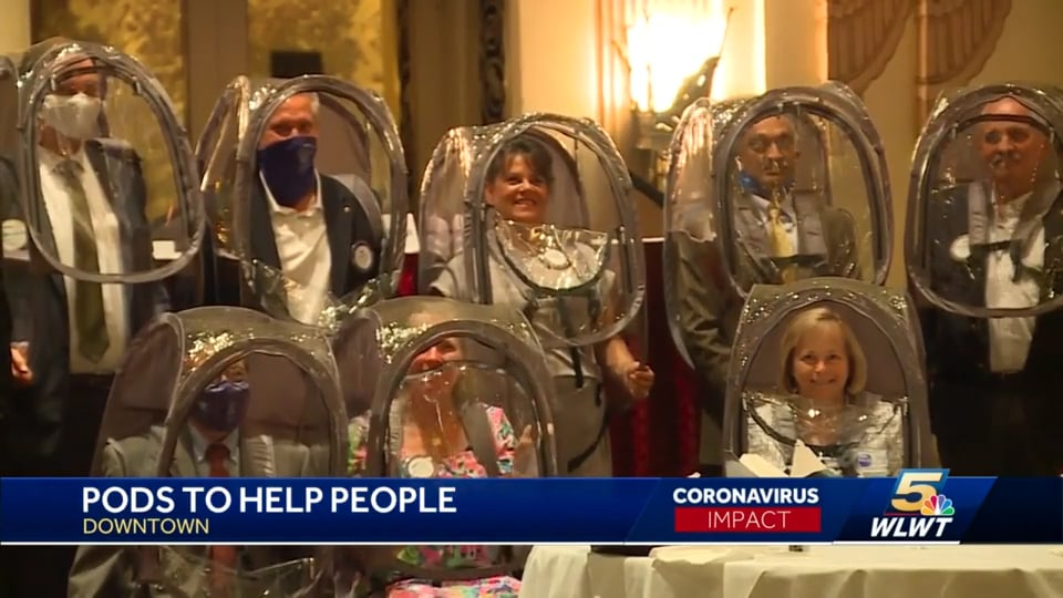 WLWT-TV: Rotary Club ShieldPod donations