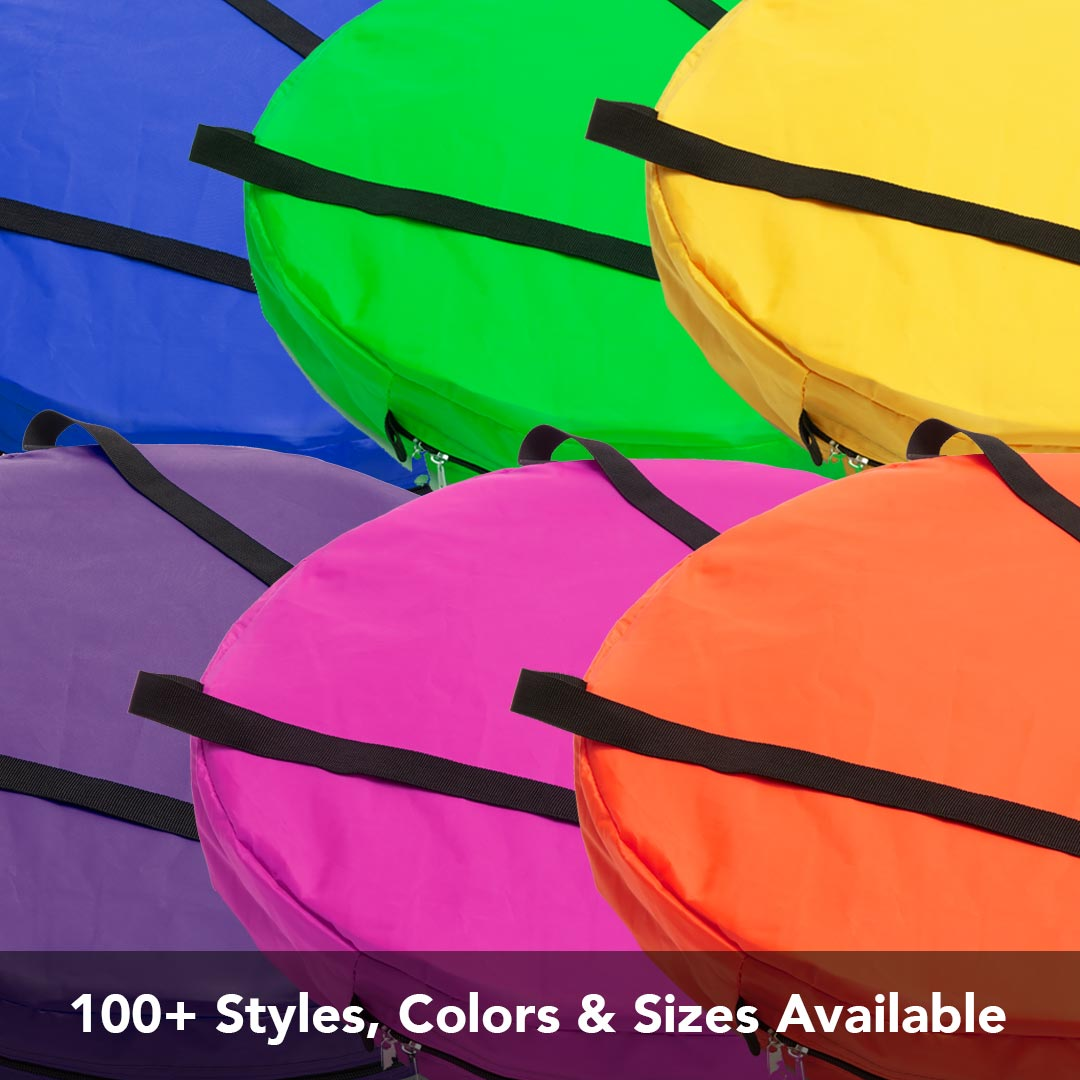 100+ Styles, Sizes & Colors Available