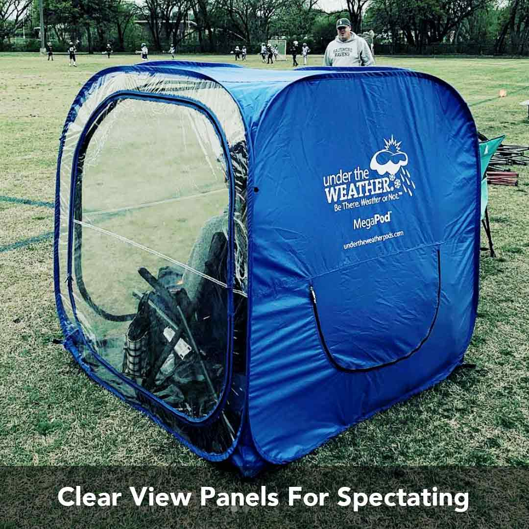 Clear View Panels for Spectating