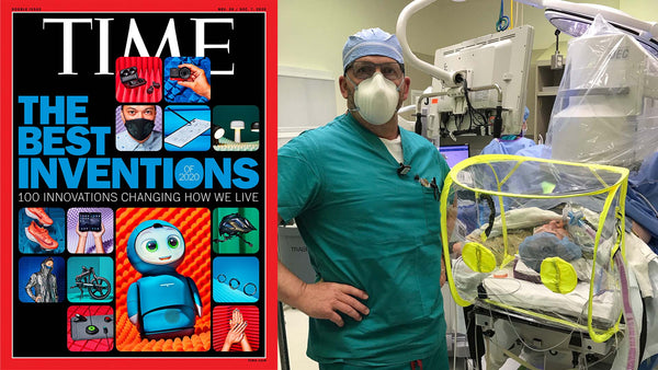The IntubationPod was named one of TIME's 2020 Best Inventions.