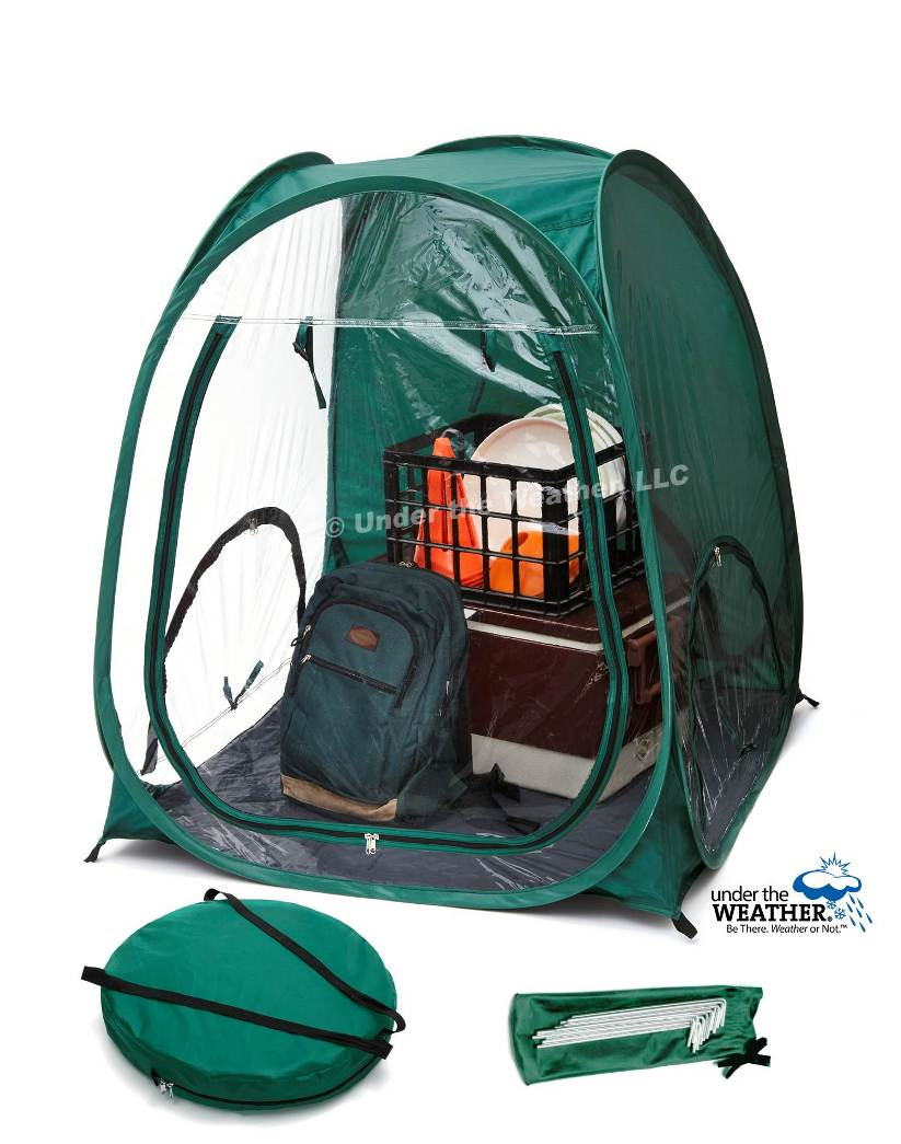 Under the Weather® - Personal pop-up sports tent for mom, dad, kids, parents - MiniPod for the Little Ones