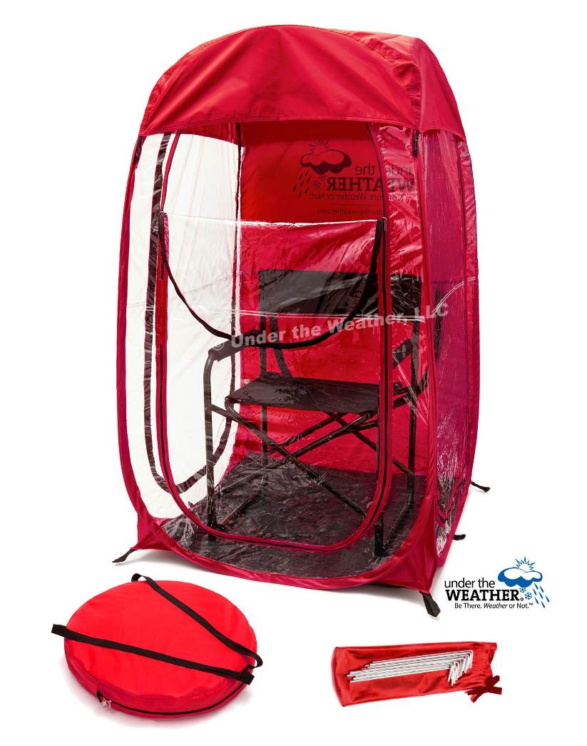 Under the Weather® - Personal pop-up sports tent for mom, dad, kids, parents - MyPod for Mom