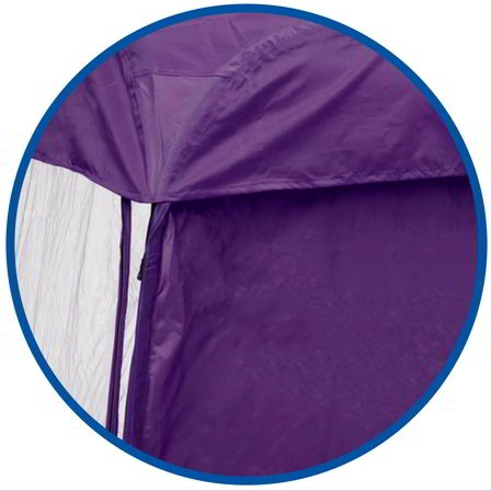 Under the Weather® - Personal pop-up sports tent for mom, dad, kids, parents - Quality Canvas