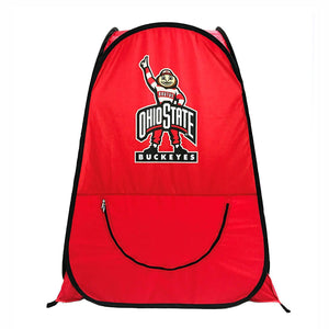 Ohio State University Buckeyes OriginalPod XL 1-Person Pop-up Tent - Under the Weather® - Personal pop-up sports tent for mom, dad, kids, parents - Perfect for soccer, baseball, softball, football, youth team sports - As Seen on Shark Tank