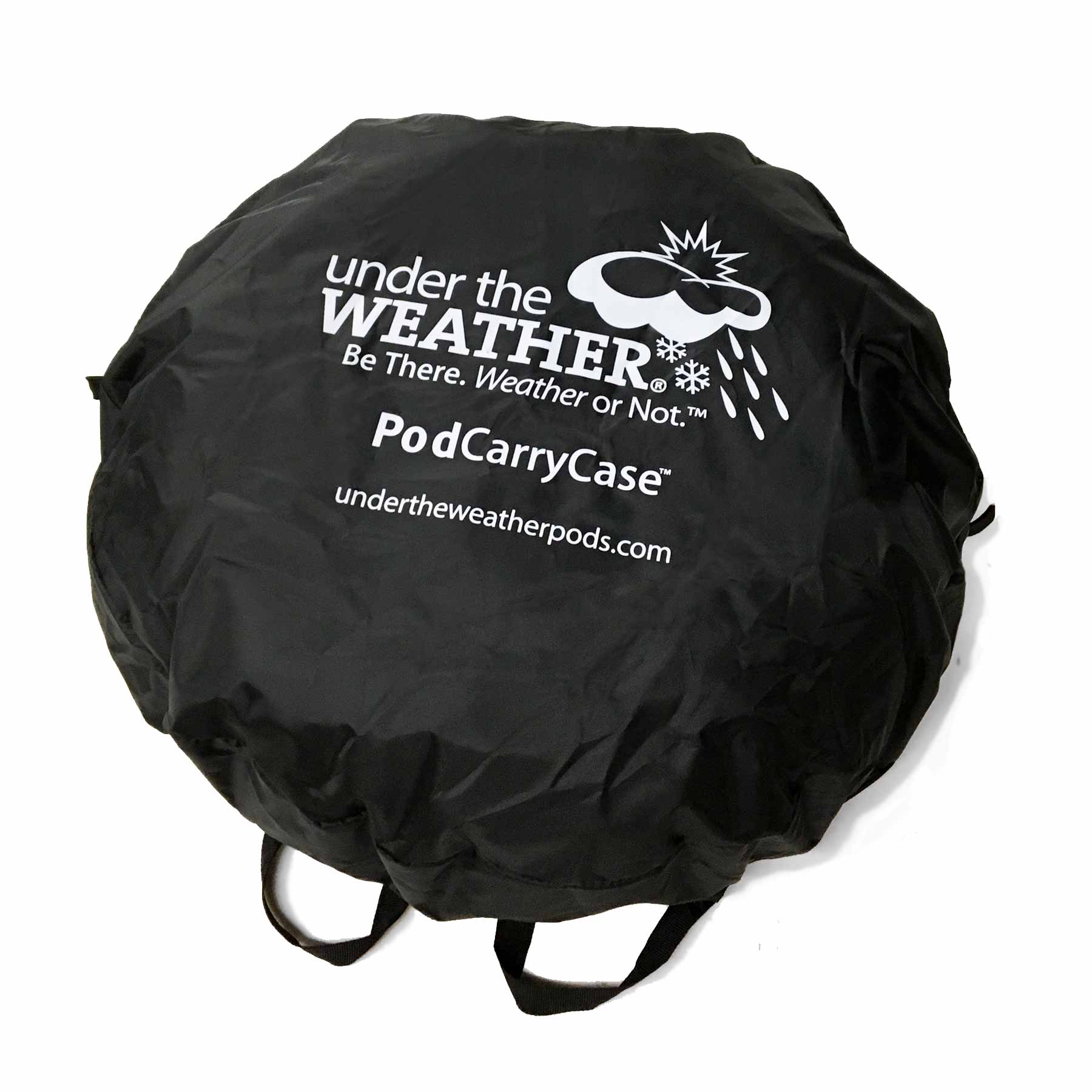 PodCarryCase - Under the Weather® - Personal pop-up sports tent for mom, dad, kids, parents - Perfect for soccer, baseball, softball, football, youth team sports - As Seen on Shark Tank