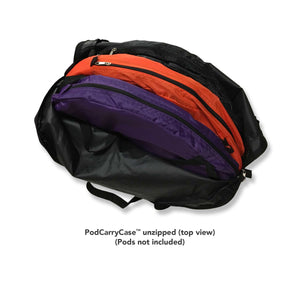 PodCarryCase™ - Under the Weather® - Personal pop-up sports tent for mom, dad, kids, parents - Perfect for soccer, baseball, softball, football, youth team sports - As Seen on Shark Tank