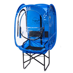 ChairPod™ - Under the Weather® - Personal pop-up sports tent for mom, dad, kids, parents - Perfect for soccer, baseball, softball, football, youth team sports - As Seen on Shark Tank