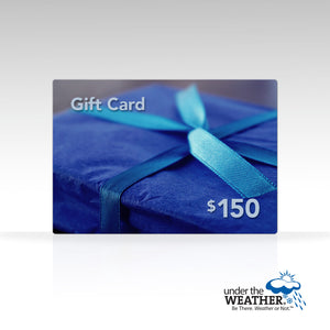 Under the Weather® Gift Card - Under the Weather® - Personal pop-up sports tent for mom, dad, kids, parents - Perfect for soccer, baseball, softball, football, youth team sports - As Seen on Shark Tank