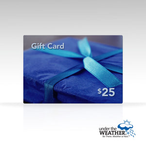 Under the Weather Gift Card - Under the Weather® - Personal pop-up sports tent for mom, dad, kids, parents - Perfect for soccer, baseball, softball, football, youth team sports - As Seen on Shark Tank
