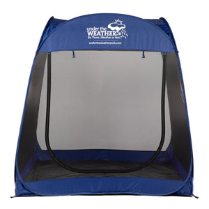 MonsterMeshPod™ - Under the Weather® - Personal pop-up sports tent for mom, dad, kids, parents - Perfect for soccer, baseball, softball, football, youth team sports - As Seen on Shark Tank