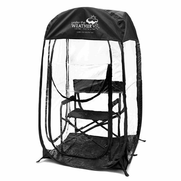 MyPod™ 360° - Under the Weather® - Personal pop-up sports tent for mom, dad, kids, parents - Perfect for soccer, baseball, softball, football, youth team sports - As Seen on Shark Tank
