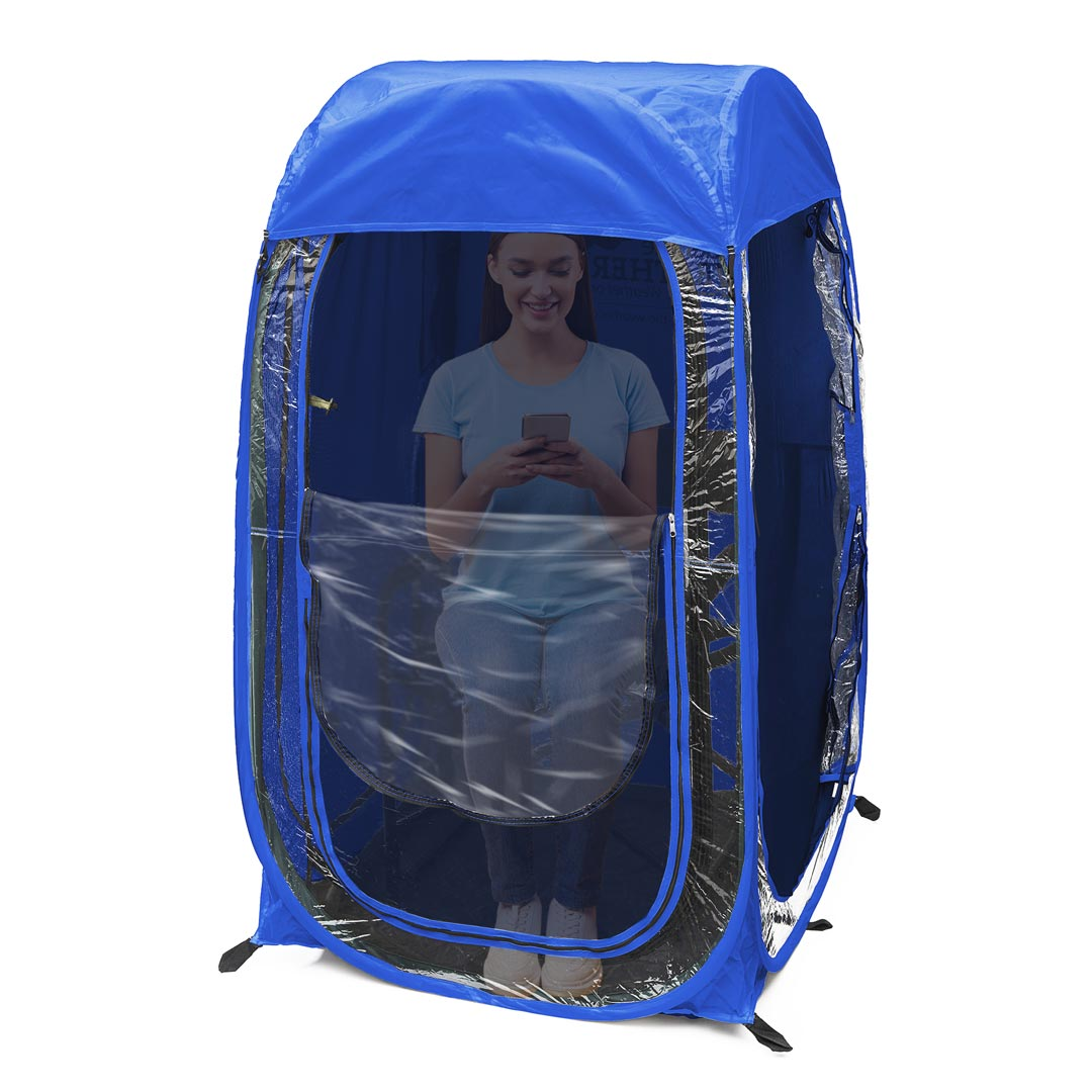 Mesh Bug Screen Insert for MyPod™ 1-Person Pop-Up Tent - Under the Weather® - Personal pop-up sports tent for mom, dad, kids, parents - Perfect for soccer, baseball, softball, football, youth team sports - As Seen on Shark Tank