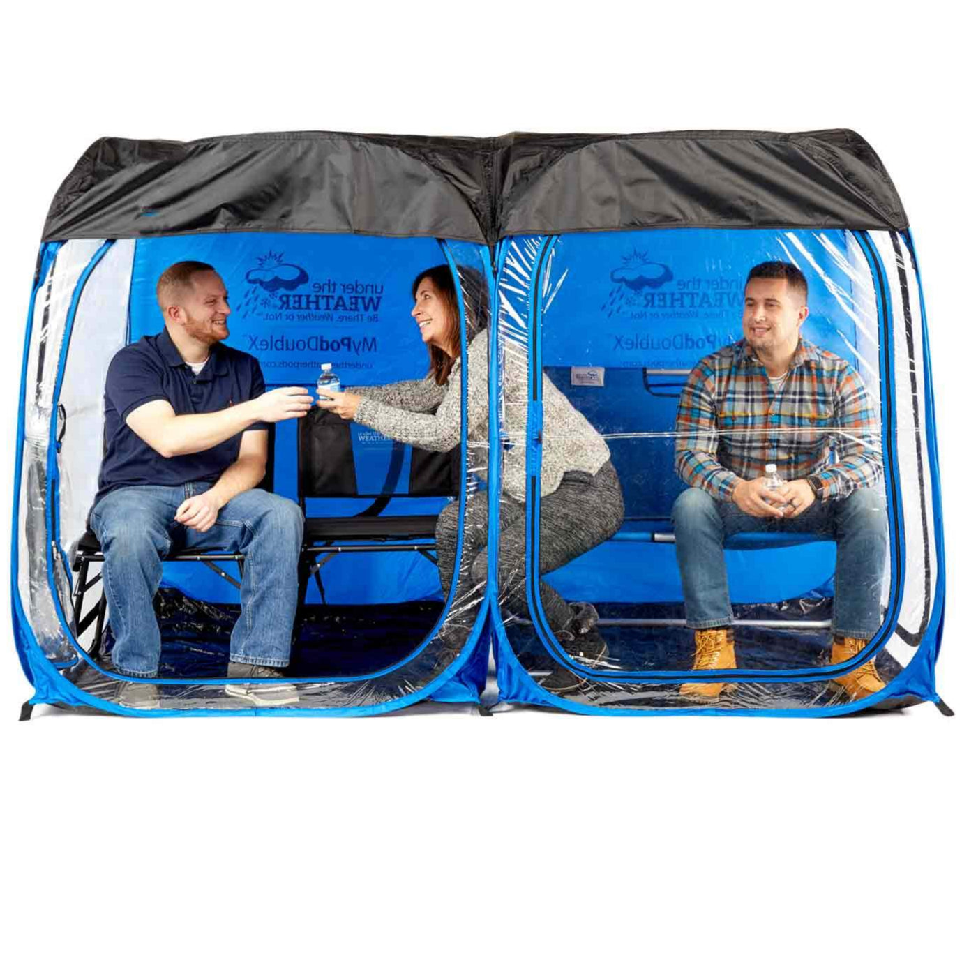 ConnectUp 2 Roof for MyPod 2XL - Under the Weather® - Personal pop-up sports tent for mom, dad, kids, parents - Perfect for soccer, baseball, softball, football, youth team sports - As Seen on Shark Tank