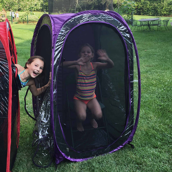 MyPodScreen™ Insert - Under the Weather® - Personal pop-up sports tent for mom, dad, kids, parents - Perfect for soccer, baseball, softball, football, youth team sports - As Seen on Shark Tank