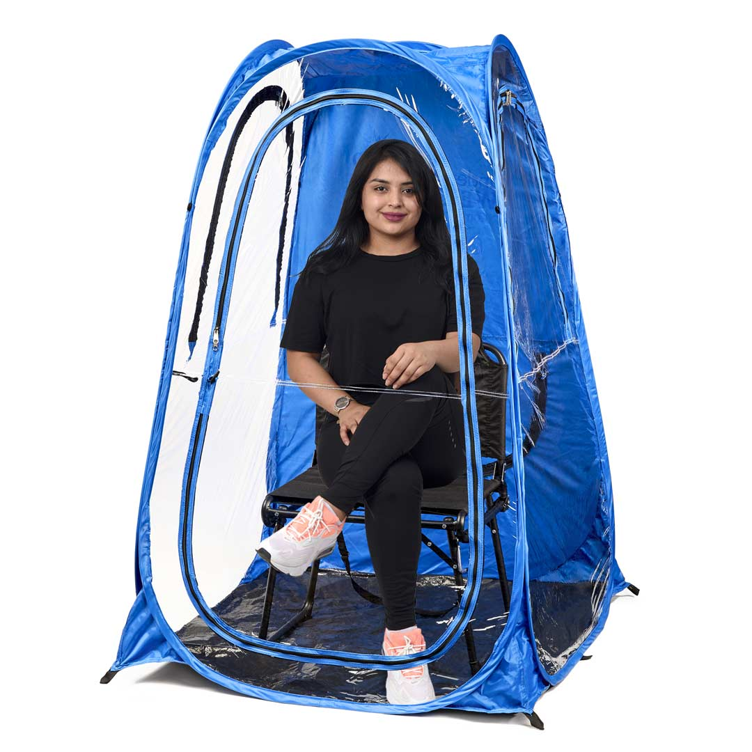 OriginalPod™ 1-Person Pop-up Tent - Under the Weather® - Personal pop-up sports tent for mom, dad, kids, parents - Perfect for soccer, baseball, softball, football, youth team sports - As Seen on Shark Tank