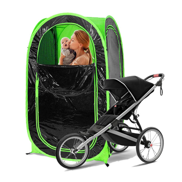PrivacyPod™ - Under the Weather® - Personal pop-up sports tent for mom, dad, kids, parents - Perfect for soccer, baseball, softball, football, youth team sports - As Seen on Shark Tank
