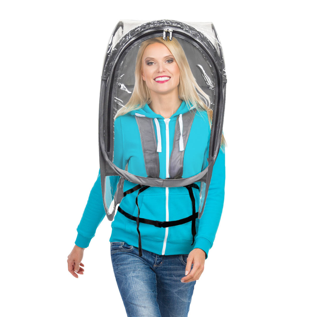 ShieldPod™ - Under the Weather® - Wearable pop-up Pod for social distancing
