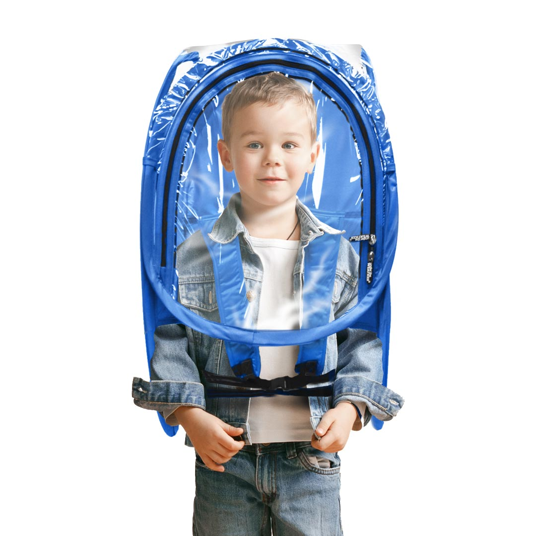 ShieldPod™ Mini - Royal Blue - Under the Weather® - Wearable pop-up Pod for social distancing