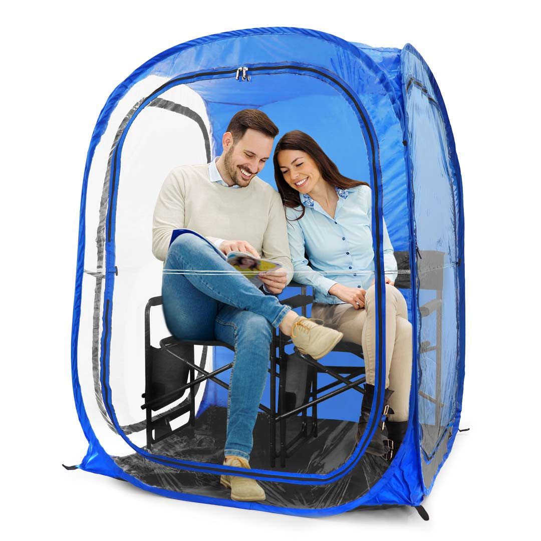 MyPod™ 2XL 2-Person Pop-up Ten - Under the Weather® - Personal pop-up sports tent for mom, dad, kids, parents - Perfect for soccer, baseball, softball, football, youth team sports - As Seen on Shark Tank